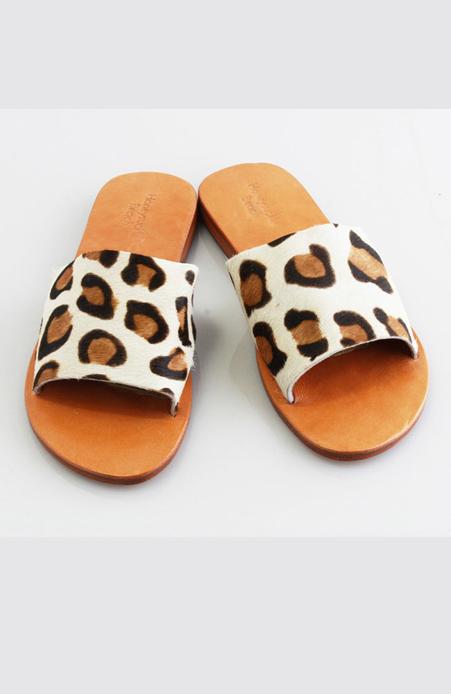 Slide Cow Hide - Leopard