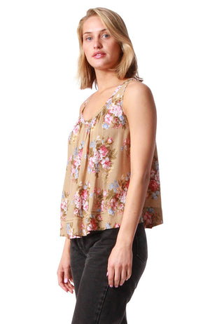 Summer Top Coventry Sand