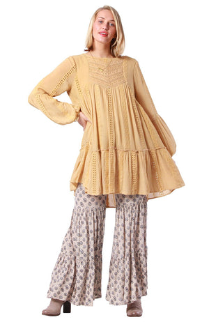 Mandalay Tunic Tumeric