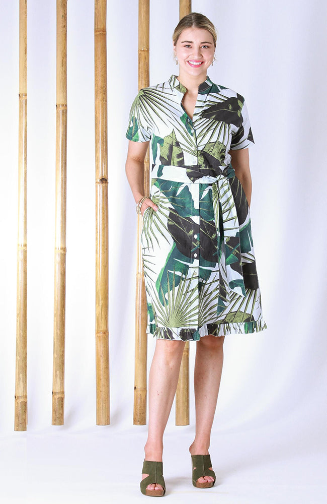 Lizzie Dress Paradise Green