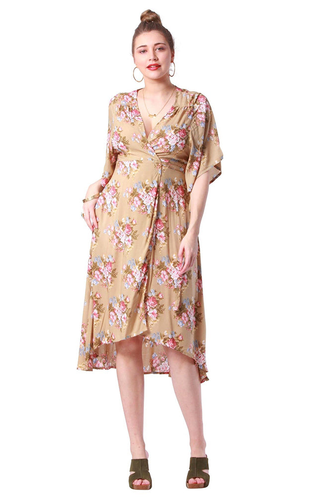 Swanson Dress Coventry Sand