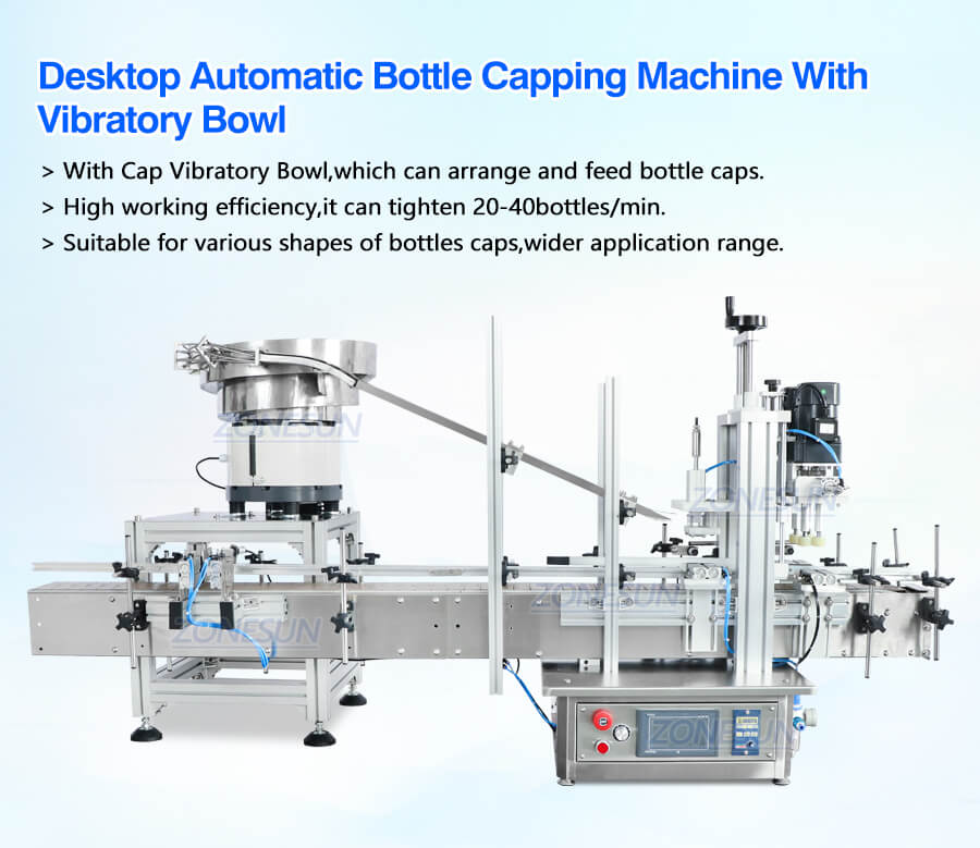 Capping Machine With Cap Sorter