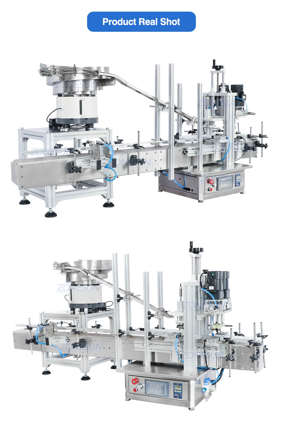 Real Shot Of Capping Machine