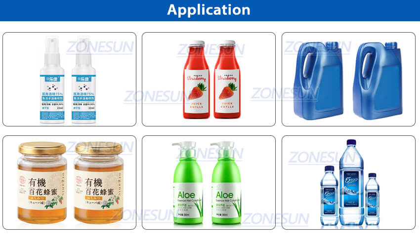 Application of Automatic Bottle Tracking Filling Machine
