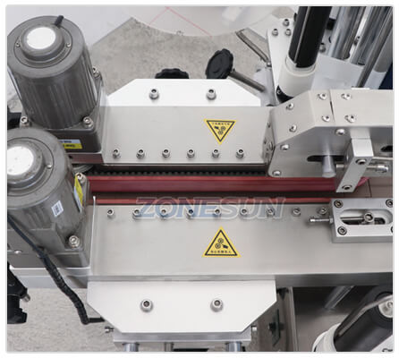 Bottle Guiding Structure of Automatic Bottle Labeling Machine
