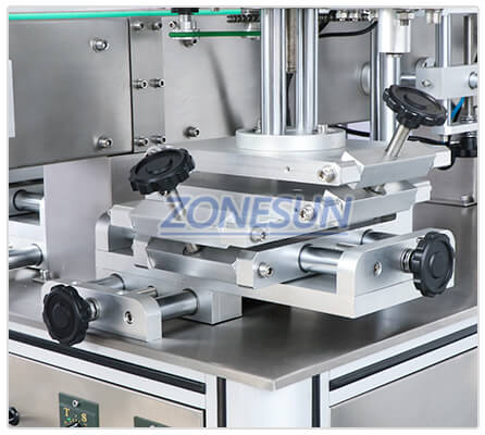 Adjusting Component of ZS-TB300Z Flat Round Bottle Labeling Machine