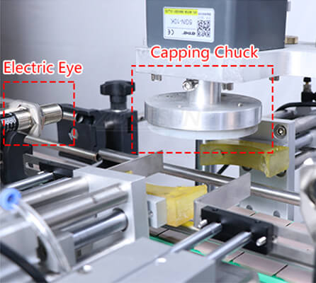 Capping Head of Automatic Twist Off Capping Machine