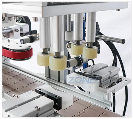 Capping Structure of Desktop Capping Machine With Cap Feeder