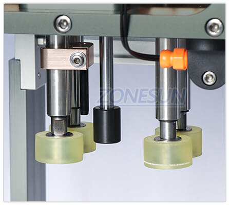 Capping Structure of Semi-automatic Capping Machine for Conveyor Belt