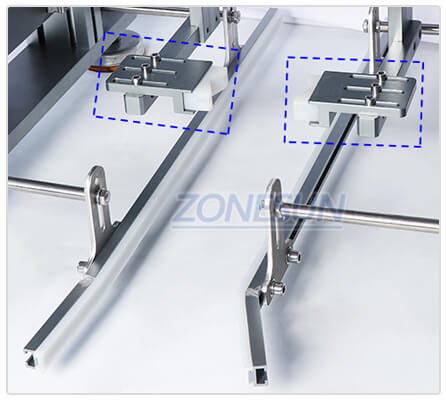 Clamping Structure of Semi-automatic Capping Machine for Conveyor Belt