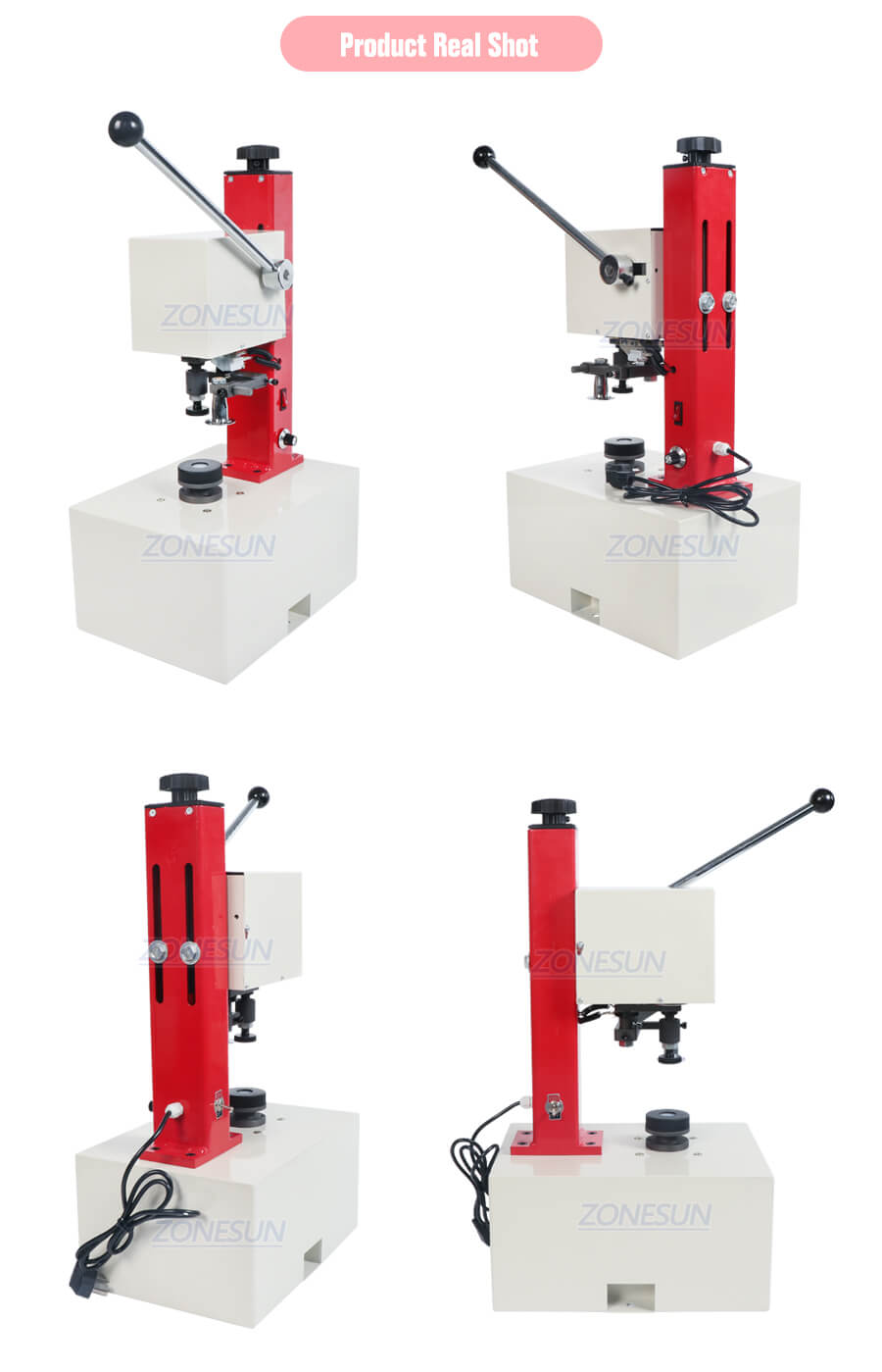 Real Shot of Glass Vial Capping Machine