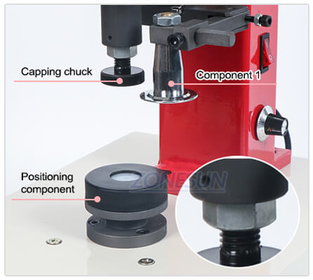 Capping Chuck of Glass Vial Capping Machine