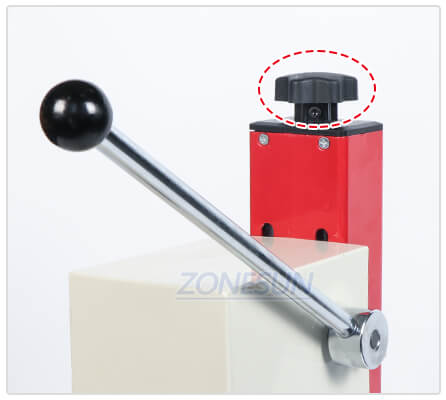 Rotary Knob of Glass Vial Capping Machine