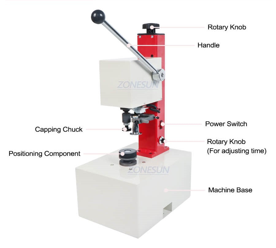 Machine Component of Glass Vial Capping Machine