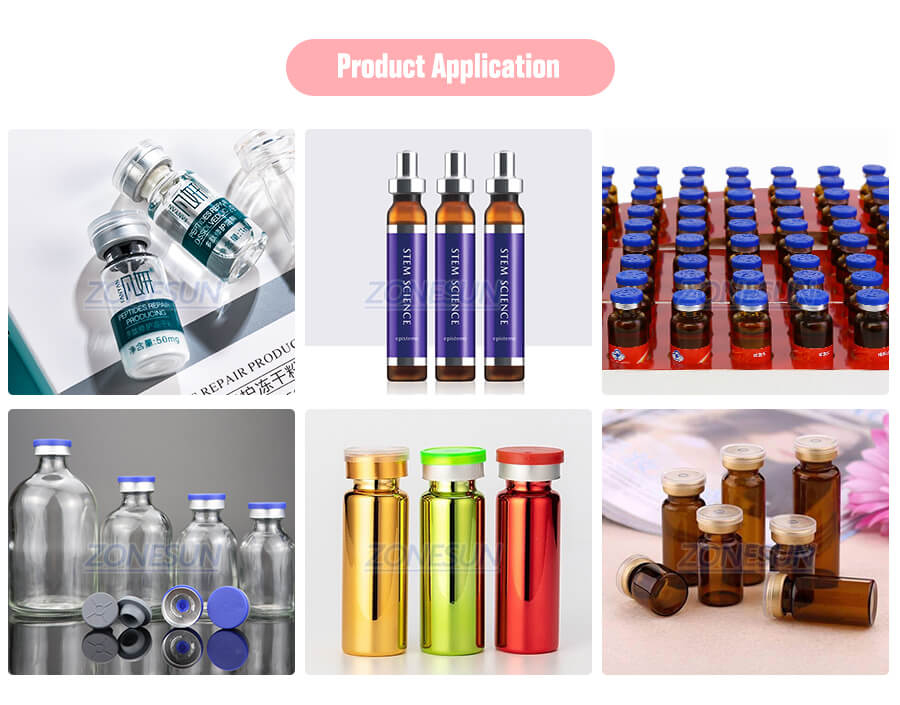 Application of Glass Vial Capping Machine