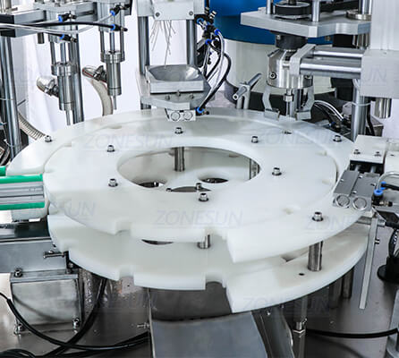 Rotary Plate of ZS-AFC2 Monoblock Filling Capping Machine