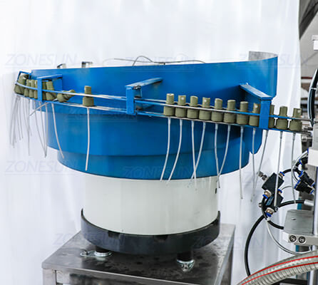 Vibratory Bowl Cap Feeder of ZS-AFC2 Monoblock Filling Capping Machine