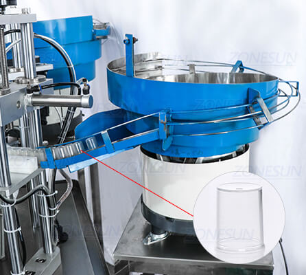 Vibratory Bowl Sorter of ZS-AFC2 Monoblock Filling Capping Machine