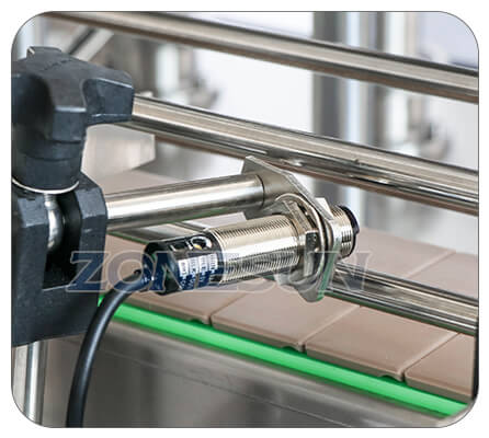 Electric Eye of Paste Piston Pump Filling Machine With Mixer Heater