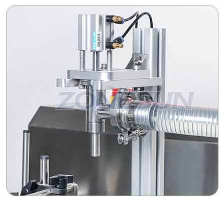 Filling Nozzle of Paste Filling Machine With Mixer Heater