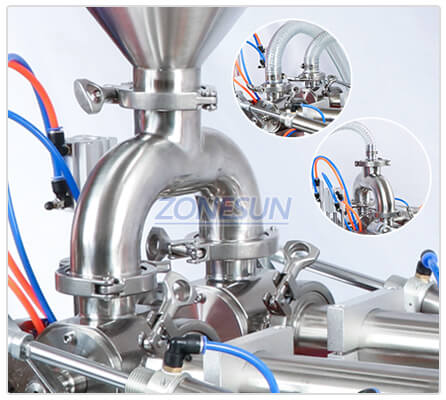 Details of ZS-GY2 Piston Pump Filling Machine