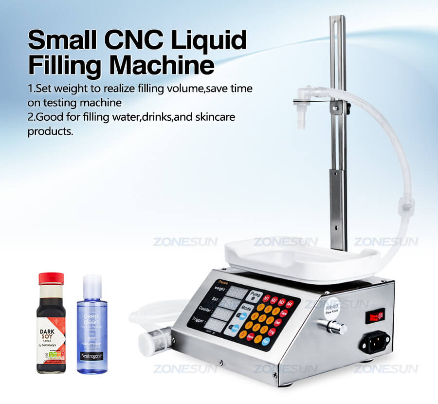 M-1080S Automatic Liquid Filling Weighing Machine