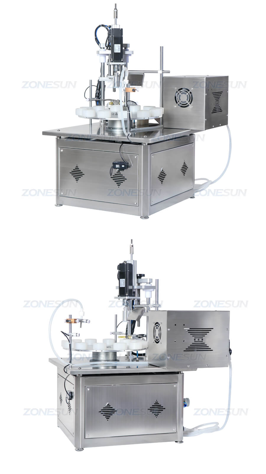 Small Bottle Filling Capping Machine