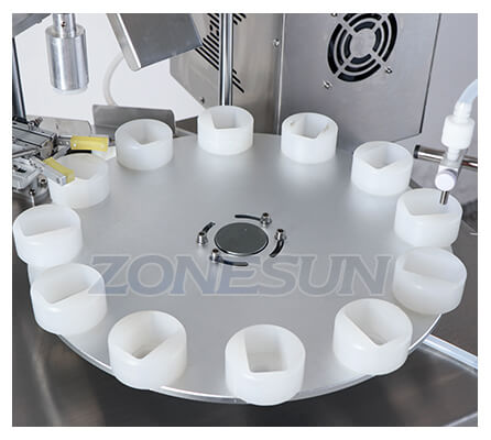 Rotary Dish of Small Bottle Filling Capping Machine