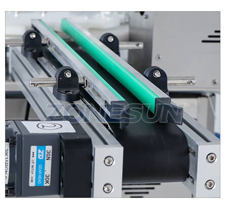 Conveyor Belt Of Small Bottle Filling Capping Machine