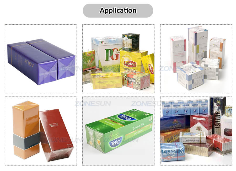 Application of Small Film Wrapping Machine