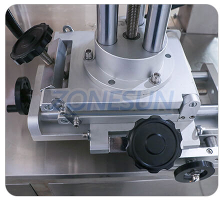 Adjusting Structure of ZS-TB600T Three Sides Labeling Machine