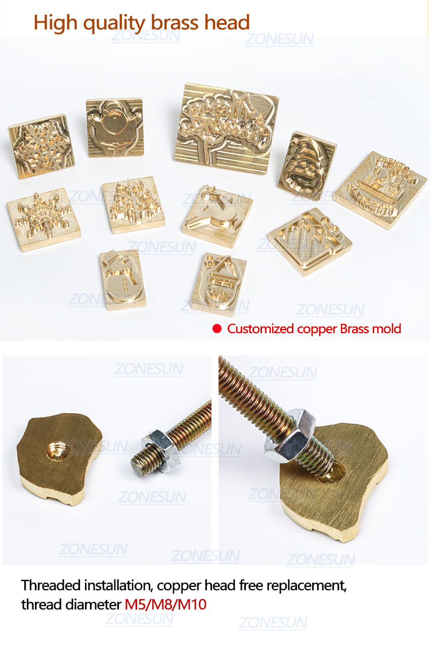 Wood Handle For Brass Mold