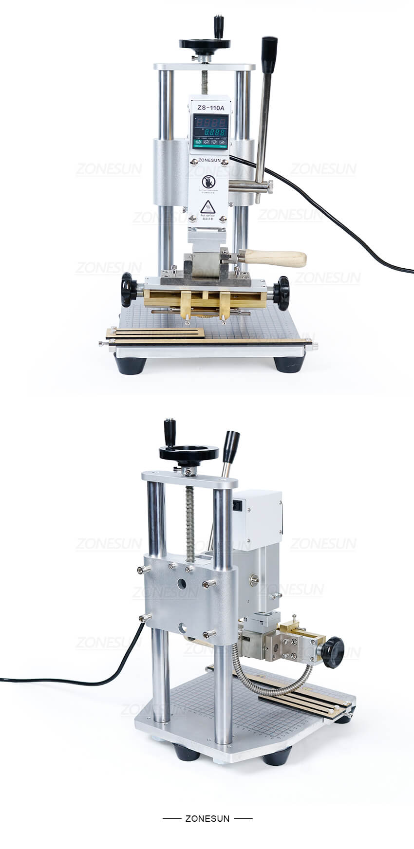 Real shot of ZS-110A Stamping Machine