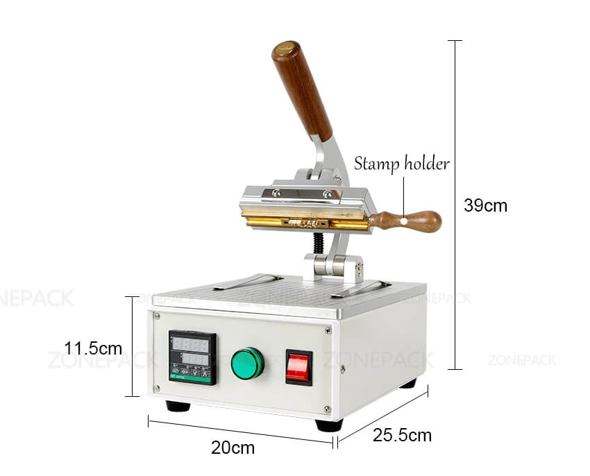 Dimension of ZS-90XT Stamping Machine