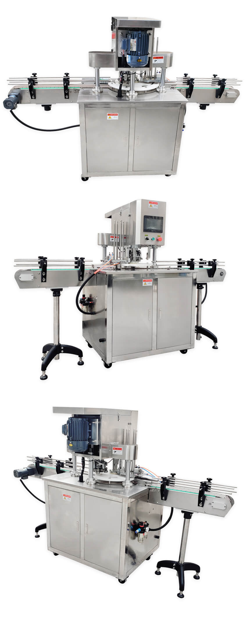 Real Shot of ZS-AFK300 Automatic Can Seaming Machine