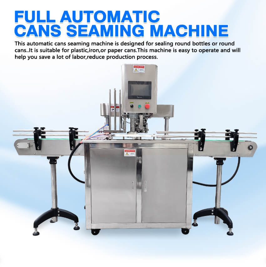 ZS-AFK300 Automatic Can Seaming Machine