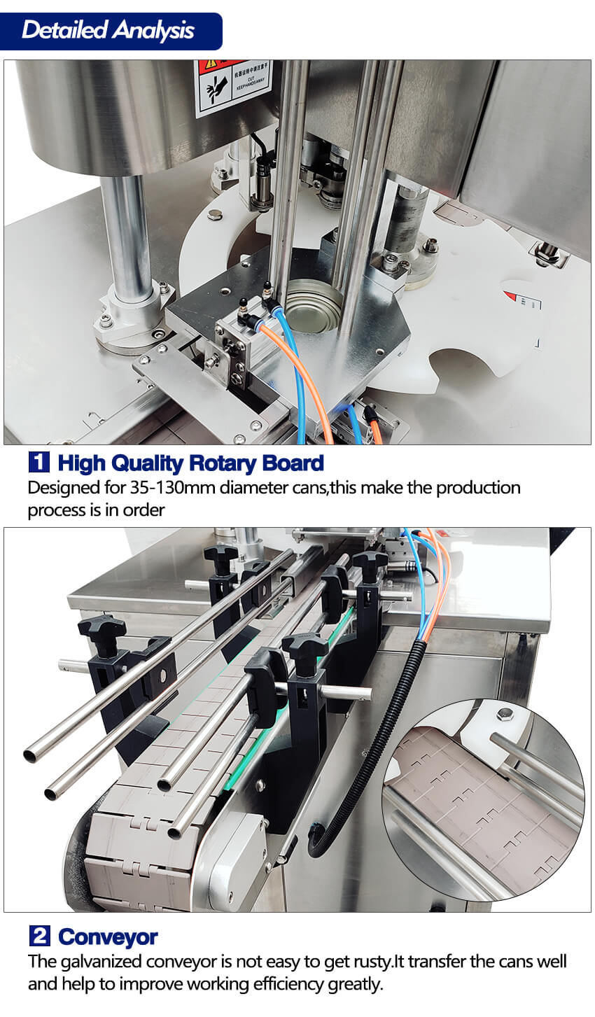 Detail of ZS-AFK300 Automatic Can Seaming Machine