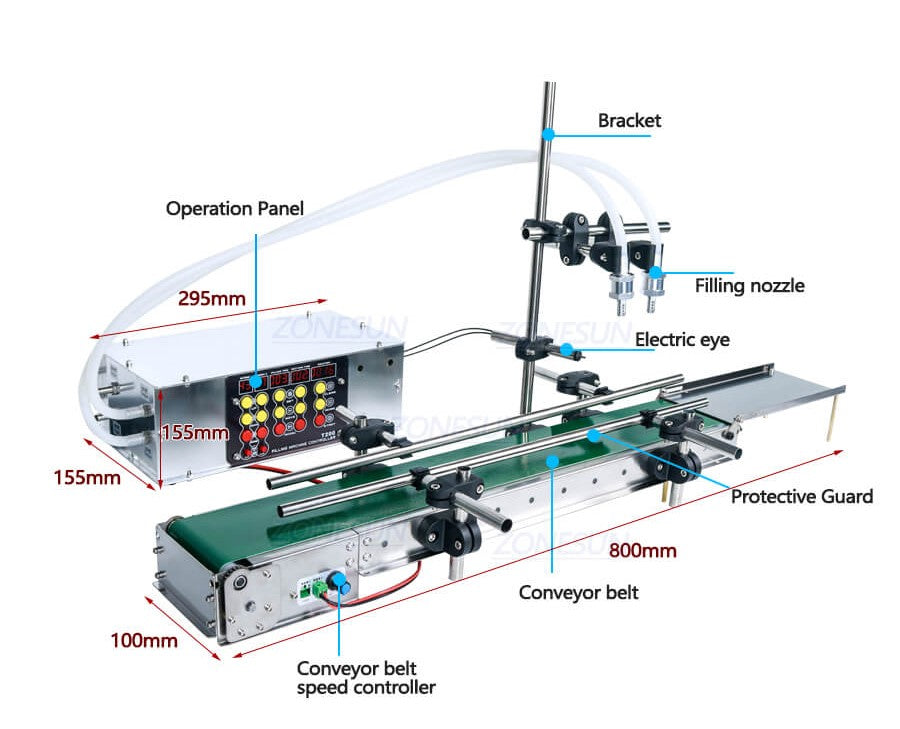 ZS-DPYT200 Small Scale Automatic Filling Machine