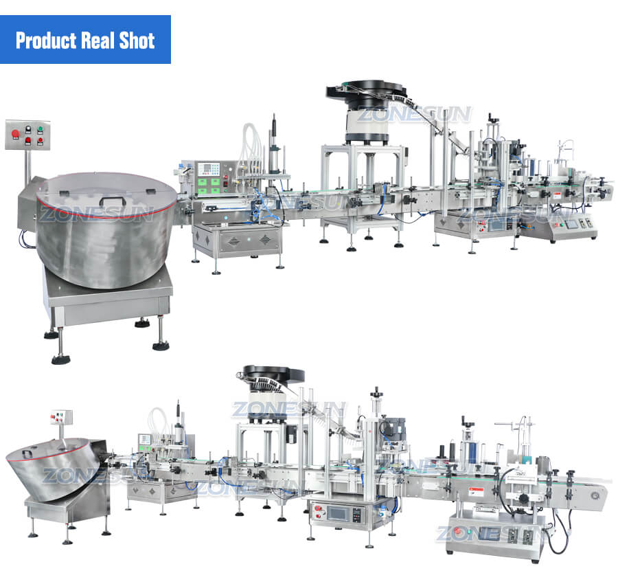 ZS-FAL180D3 Small Bottle Filling Line