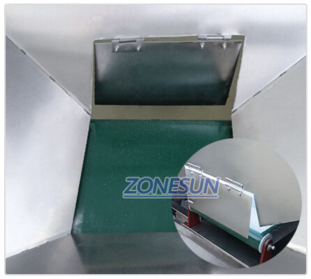 Inlet of ZS-LP150 Automatic Turntable Machine
