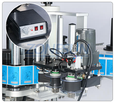 Date Coder of ZS-TB260Z Automatic Round Bottle Labeling Machine