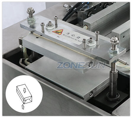 Sealing Structure of ZS-TD260 Film Wrapping Machine