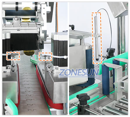 Labeling Head of ZS-TB822D Automatic Bottle Labeling Machine