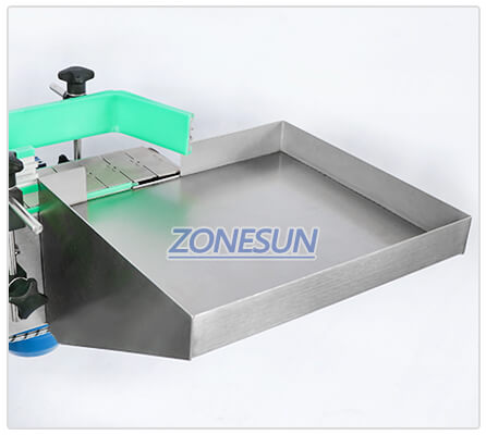 Collecting Plate of ZS-TB822D Automatic Bottle Labeling Machine