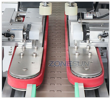 Guiding Structure of ZS-XG16 Automatic Bottle Capping Machine With Cap Feeder