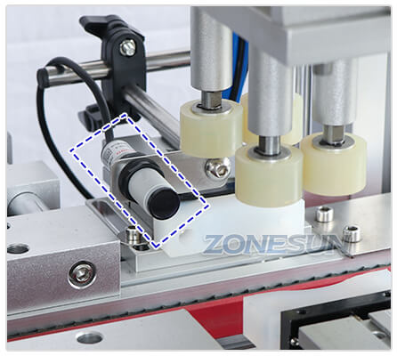Electric Eye of ZS-XG16 Automatic Bottle Capping Machine With Cap Feeder