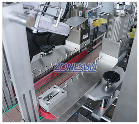 Bottle Guiding Structure of ZS-XG441F Capping Machine