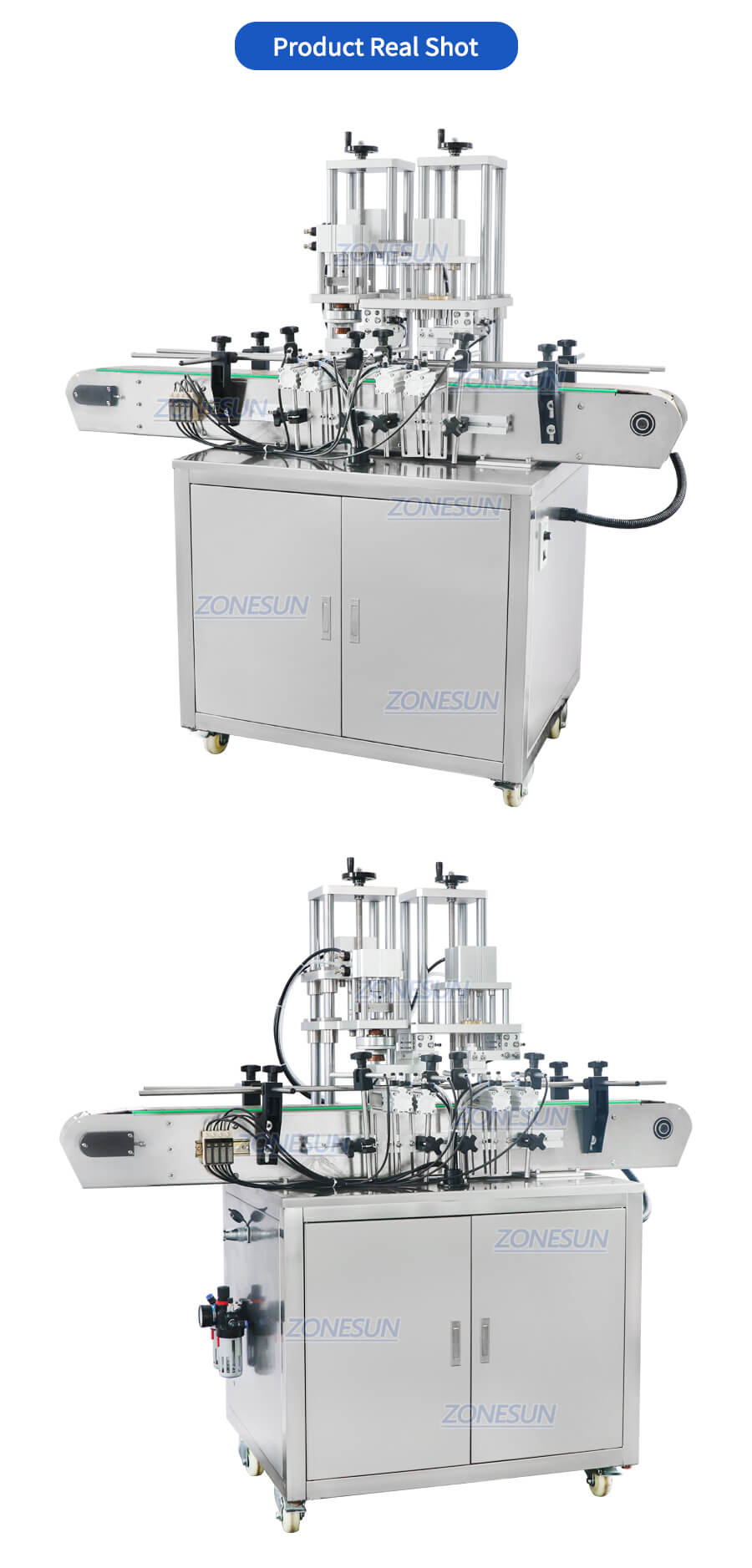ZS-YG09 Automatic Perfume Bottle Capping Machine