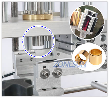 Pressing Head of ZS-YG09 Automatic Perfume Bottle Capping Machine