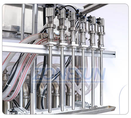 Filling Nozzle of ZS-YTDC6 Automatic Liquid Filling Machine